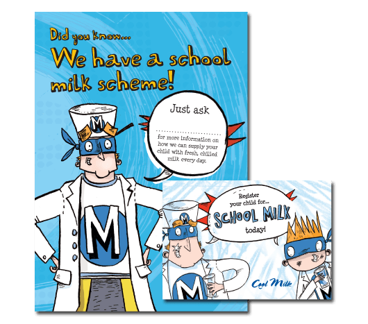 register for school milk